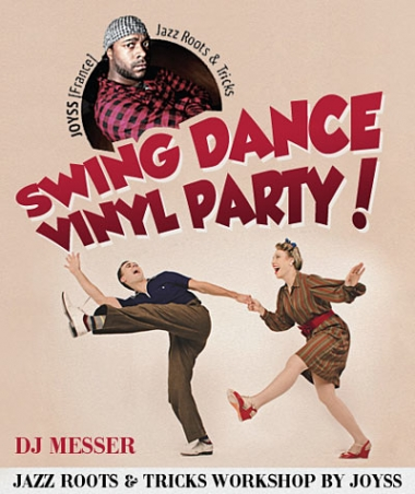 05.10 Swing Dance Vinyl Party! Киев